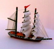 Model Ship 4, Dolls House Miniature Ornamental aceessories 1/12 scale