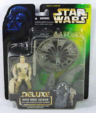 Star Wars 1996 Power Of The Force Deluxe Hoth Rebel Soldier Anti-Vehicle Laser