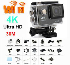 Pro Sports Action Cam Camera UHD 4K WiFi 30M Waterproof Videocamera Subacquea GO