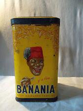 Boite ancienne Banania sucre