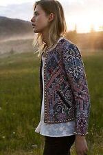 NWT ~ $238 HEMANT & NANDITA S Small ANTHROPOLOGIE Studded Quilt Jacket BOHO