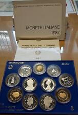 1987 - Serie annuale Italia in confezione della zecca - PROOF