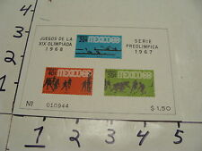 juegos de la XIX olimpiada 1968, serie preolimpica 1967 #2
