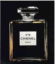 Publicité Advertising 1976 Parfum N°19 Chanel