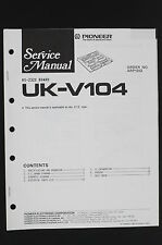 PIONEER UK-V104 Original RS-232C Board Service-Manual/Schaltplan/Diagram o106