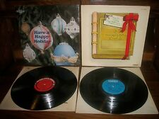 Have A Happy Holiday-Christmas Story-Anita Kerr-Record Album LP Lot