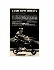 1968 KEYSTONE HI-TORQUE MINI BIKE ~ ORIGINAL SMALLER PRINT AD