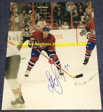 ANDREI MARKOV In ACTION Rookie Year Auto SIGNED 11x14 Photo MONTREAL CANADIENS