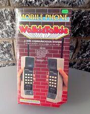 Vintage Very Rare G1 Of Walkietalkie Walkie Talkie Mobile Phone Nib