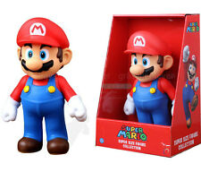 "1X Large PVC Figure Super Mario Brothers Action Figure Mario Red Hat 9""/23cm#US"
