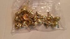 LOT brass knobs qty16 and some hardware  DYI  Fix it  Honey Do List  Stocking