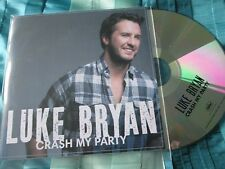 Luke Bryan ‎– Crash My Party Capitol Records Nashville Deluxe Promo CD Album