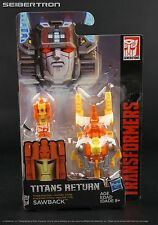 Titan Master SAWBACK Transformers Titans Return Generations New 2017 Lione