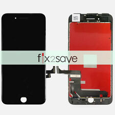 Black iPhone 7 Plus LCD Lens Display Touch Screen Digitizer Assembly Replacement
