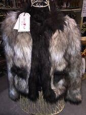 Lanvin H&M Faux Fur Jacket Coat Size 6 NWT