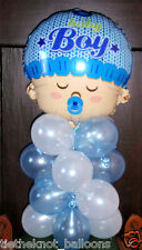 "18"" FOIL BALLOON  NEW BABY BOY SHOWER  TABLE DISPLAY DECORATION AIR NO HELIUM"