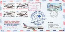 """A380-114 FFC ST-PIERRE MIQUELON """"A380 Air France 1st Flight Montreal-Paris"""" 2010"""