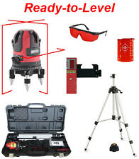Spot-On RedLiner 3 Xpro Set - MultiLiner Laser Level w/Receiver, Tripod & Case