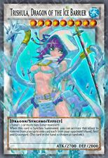 Trishula, Dragon of the Ice Barrier Yu-Gi-Oh! Super Rare Sexy Alt Art Orica