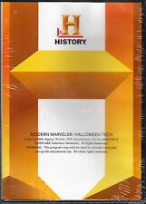 The History Channel : Halloween Tech : Modern Marvels   BRAND NEW