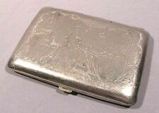 Cigarette Case Old Vintage Russian Soviet Holder Box Military Red Army USSR