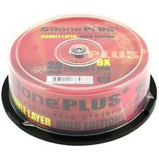 25 Aone+(Gold) DL-8X-LG-25C 8.5GB DVD+R DL 8X Dual Layer 25 pcs  Logo Top