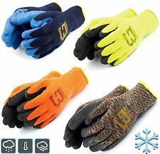 Better Grip BGWLAC Winter Insulated Rubber Latex Coated Work Gloves, Crinkle 3