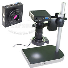 100X Measuring 1080P HDMI VGA HD Industrial Lab C-mount Lens Microscope Camera S