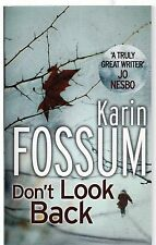 Don't Look Back by Karin Fossum New Paperback Book