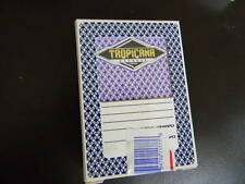 Tropicana Casino- Laughlin- deck of playing cards-Actually Used in Casino- HTF