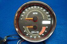 Harley Softail Dyna FLHR Speedometer Tachometer Speedo Tach 9152.4 miles