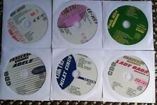 6 CDG KARAOKE DISCS BEST OF GIRL POP & COUNTRY- LADY GAGA,ADELE,MILEY CYRUS CD+G