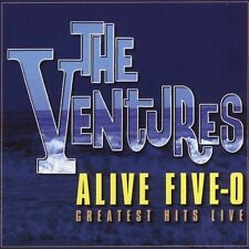 Alive Five-O Greatest Hits Live by The Ventures (CD, Jun-2005, 2 Discs,...