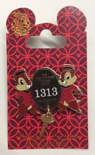 Disney Pin The Hollywood Tower Hotel 1313 Chip And Dale Tower Of Terror Pin New