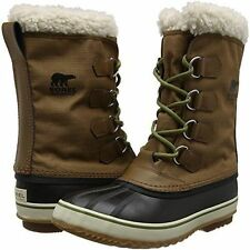 New in Box Sorel Mens 1964 Pac Nylon NM 1440-260 Cold Weather Nutmeg Brown 12 D