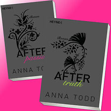 im Set: ANNA TODD | AFTER passion + AFTER truth | AFTER Band 1 + 2 (Buch)
