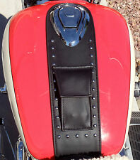 Honda Shadow VT1100 1100 Aero Tank Bib Bra Chap *POCKET+STUDS* Made In USA!
