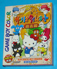 Hello Kitty Sanrio Timenet Future - Game Boy Color GB Nintendo Gameboy - JAP