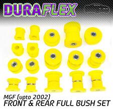 MGF (hasta 2002) Frente y Parte trasera Bush conjunto amarillo Duraflex De Poliuretano