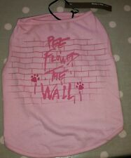 Dog Puppy Vest TShirt Top by Designers Ready To Wag, London, UK. Pink NWT