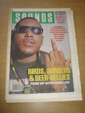 SOUNDS 1989 AUGUST 5 TONE-LOC DE LA SOUL MACABRE B52S NEW ORDER PIL SUGARCUBES