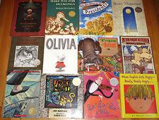 Lot 85 ALL CALDECOTT MEDAL & HONOR Books de Paola Cronin Scieszka & More! L4