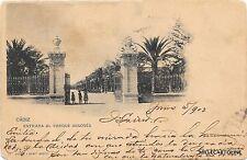 SPAIN - Cadiz - Entrada al Parque Genoves 1902