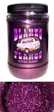 1lb Blakes Metal Flake .015 Garnet Berry Red Purple Hot Rod Custom Automotive