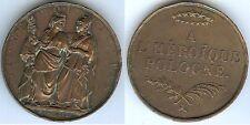 Médaille de table - A l'héroïque POLOGNE M.CCC.XXX.I BARRE FECIT Louis Philippe