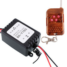 1X 12V Wireless Remote Control Module W/Strobe For Car Vehicle Light LED Strips