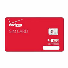 Verizon Unlimited Data Sim Card -MiFi Tablet Jetpack All Welcome. NO AOL/NO PROB