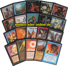 Uncommon Pack-rojo germano - 20 ungew. original Magic libro de mapas Lot