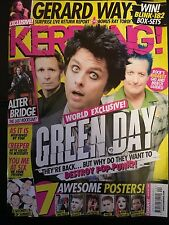 Kerrang 1640 8th October 2016 Green Day on the cover new
