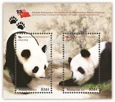 Malaysia: International Cooperative project on Giant Panda (Miniature Sheet) MNH